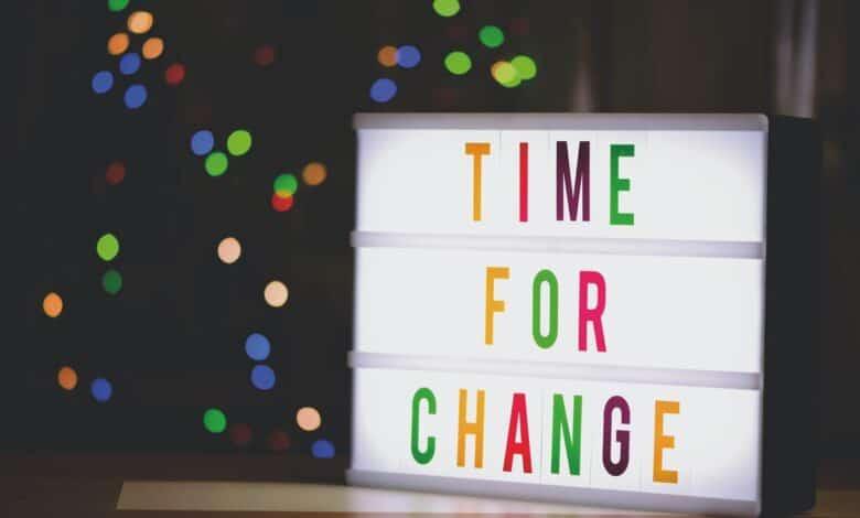 تغيير الأنظمة