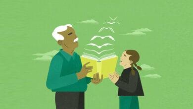 صورة الفوائد المتبادلة للدعم المحلي المشترك بين الأجيال للفصول الدراسية (الجزء الأول)