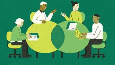 صورة قوة الفرق متعددة الأجيال في القطاع الاجتماعي (الجزء الأول)