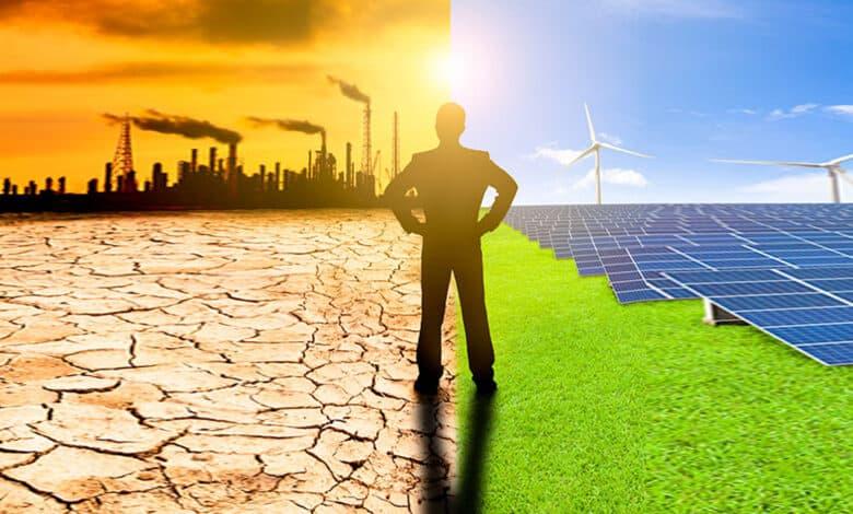 معاجلة مشكلة المناخ